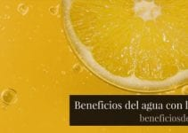 Beneficios del agua con limón
