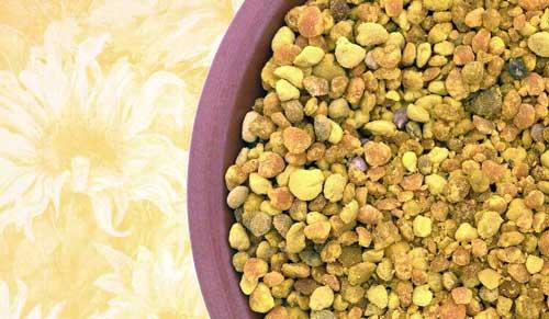 beneficios del polen granulado