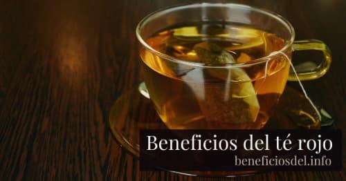 beneficios del te rojo