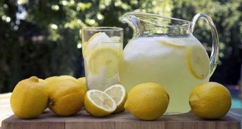 para que es bueno el zumo de limon