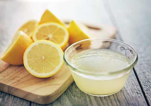 para que sirve el zumo de limon
