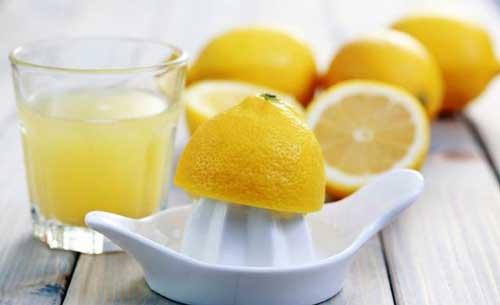 propiedades del zumo de limon
