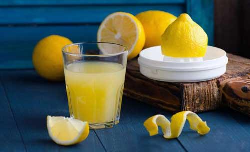 zumo de limon en ayunas contraindicaciones