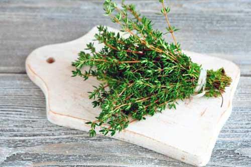 beneficios del te de tomillo