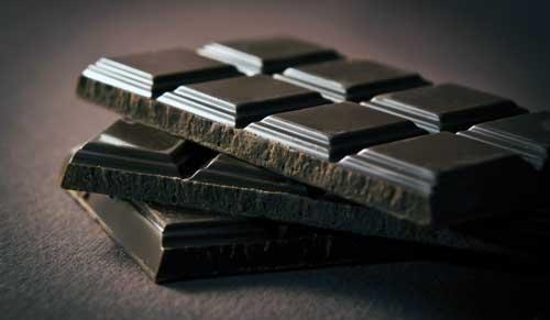 propiedades del chocolate negro
