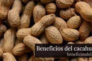 beneficios del cacahuete