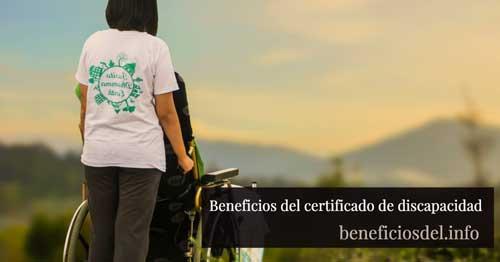beneficios del certificado de discapacidad