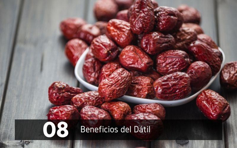 8 beneficios del dátil
