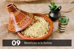 beneficios de la quinoa en ensalada