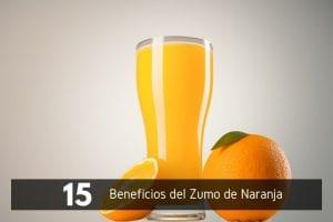 15 Beneficios del Zumo de Naranja